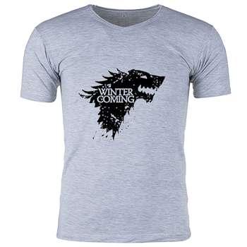 تی شرت ملانژ مردانه گالری واو - طرح Game of thrones- کد CT80101