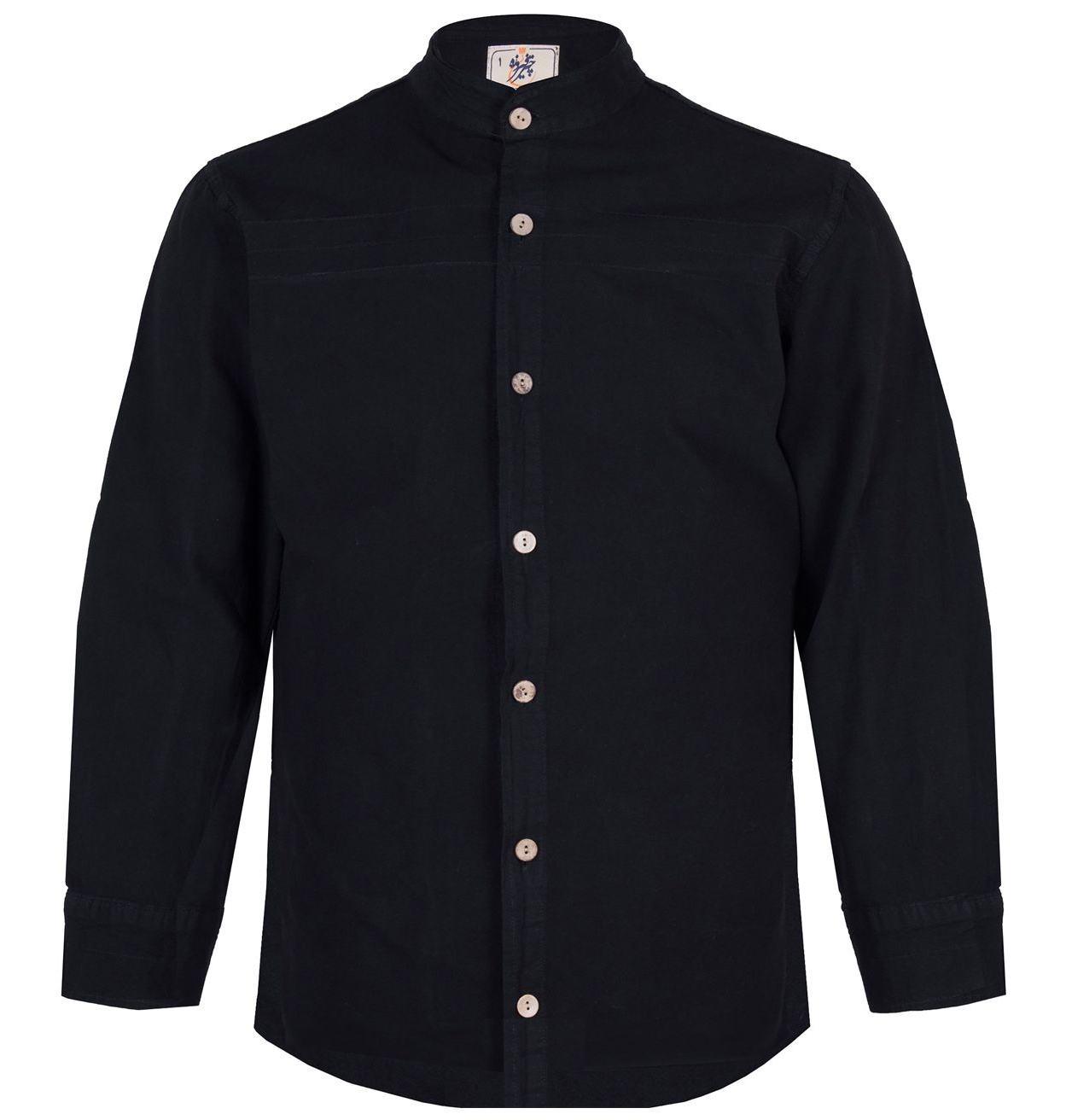 پیراهن مردانه چترفیروزه مدل جلوباز کد 2 main 1 1