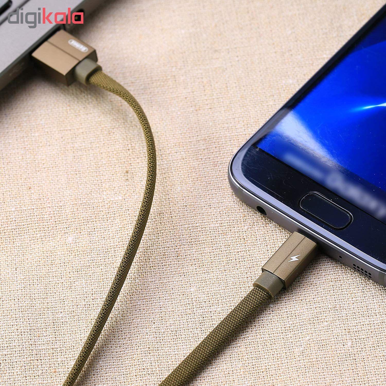 کابل تبدیل USB به microUSB ریمکس مدل Kerolla RC-094m طول 1 متر main 1 11