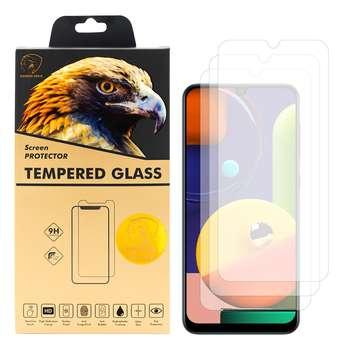 محافظ صفحه نمایش گلدن ایگل مدل GLC-X3 مناسب برای گوشی موبایل سامسونگ Galaxy A50s بسته سه عددی