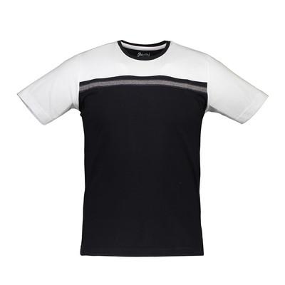 تی شرت آستین کوتاه مردانه آترین مدل BlackWhite