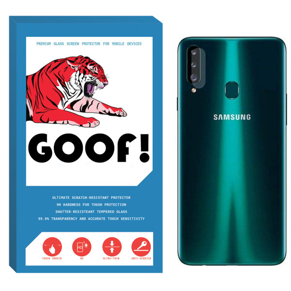 محافظ لنز دوربین گوف مدل SDG-001 مناسب برای گوشی موبایل سامسونگ Galaxy A20s