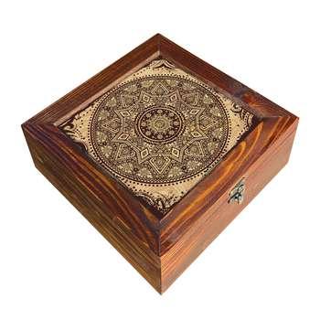 جعبه هدیه چوبی کد DG10