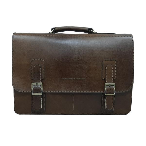 کیف اداری مردانه چرم بارثاوا کد 1106