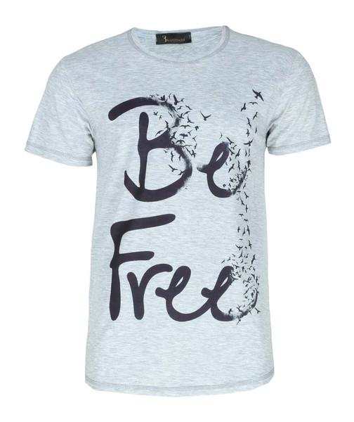 تی شرت طرح آزاد ایی اند وی مدل T10