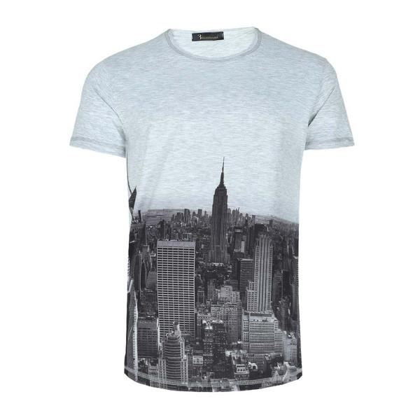 تی شرت طرح شهر ایی اند وی مدل T17