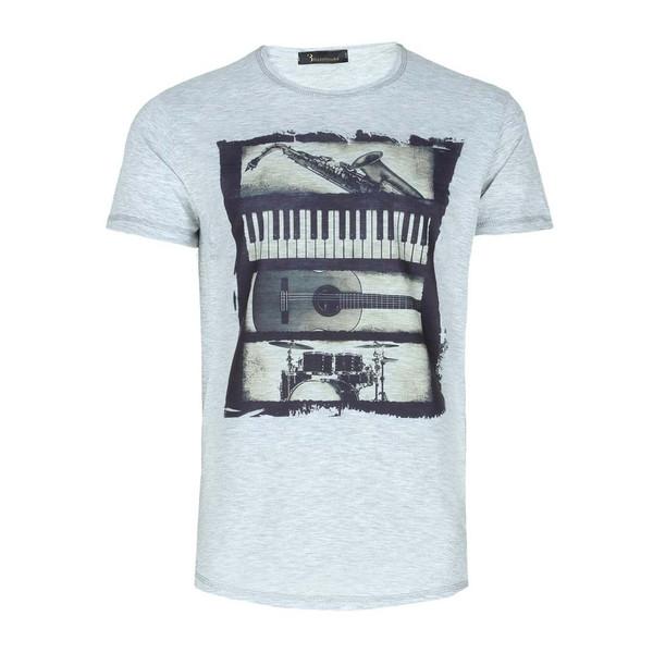 تی شرت طرح گیتار ایی اند وی مدل T15