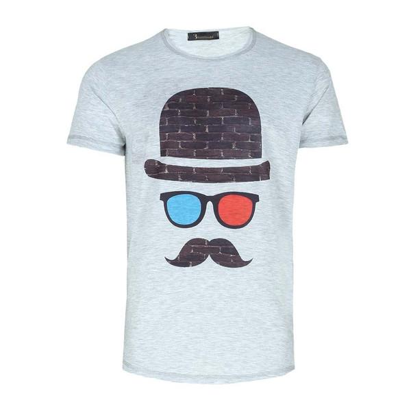 تی شرت طرح چهره فانتزی ایی اند وی مدل T09
