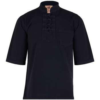 پیراهن مردانه چترفیروزه مدل چهارگره آستین کوتاه کد 7