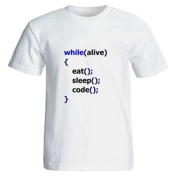 تی شرت نگار ایرانی طرح برنامه نویس Z14