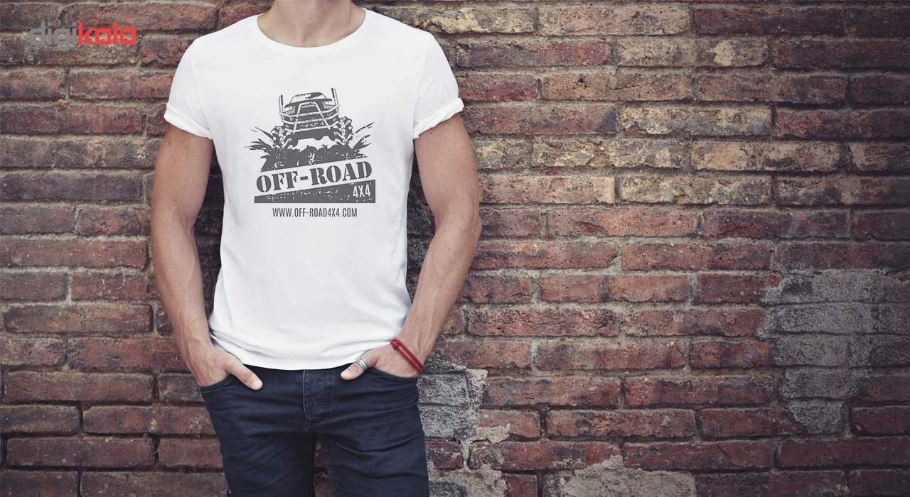 تی شرت آستین کوتاه مردانه الینور مدل ELTM80 main 1 4