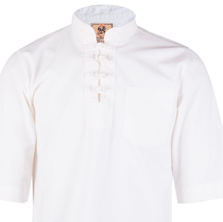 پیراهن مردانه چترفیروزه مدل چهارگره آستین کوتاه کد 1 main 1 1