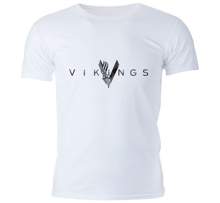 تی شرت مردانه گالری واو طرح Vikings کد CT10217 -  - 3
