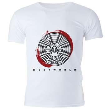 تی شرت مردانه گالری واو طرح Westworld کد CT10203