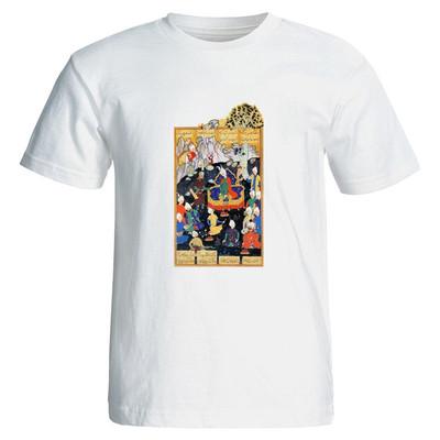 تصویر تی شرت نگار ایرانی طرح i4