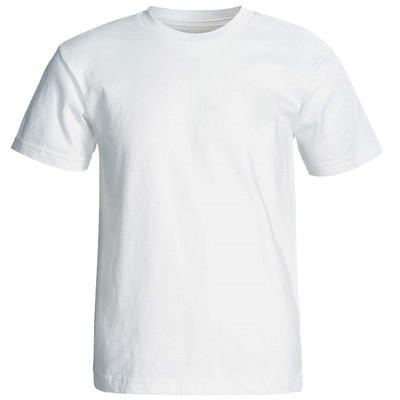 تصویر تی شرت سفید  آستین کوتاه نیکو