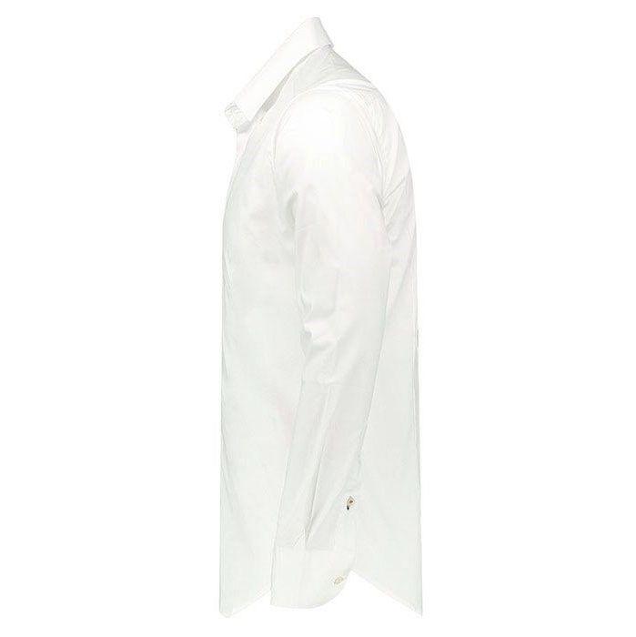 پیراهن آستین بلند سفید مردانه پبونی مدل BW main 1 3