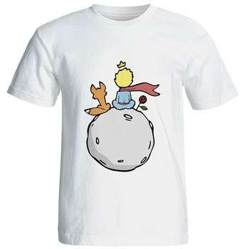 تی شرت آستین کوتاه شین دیزاین طرح شازده کوچولو کد 4138