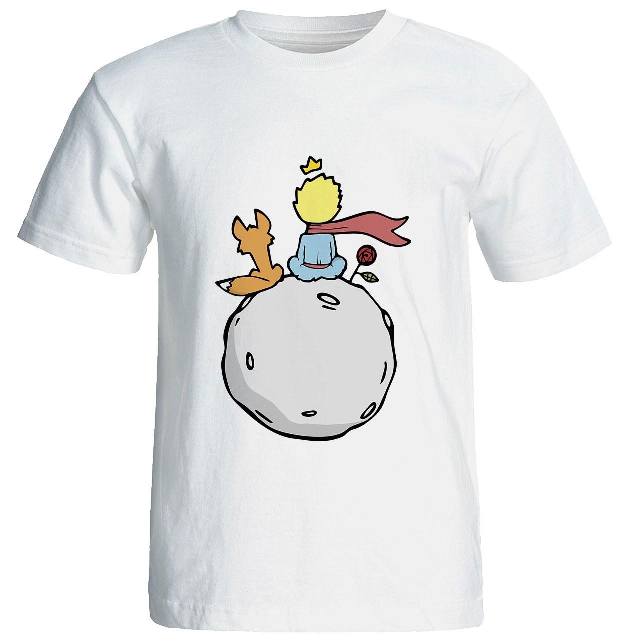 Photo of تی شرت آستین کوتاه شین دیزاین طرح شازده کوچولو کد 4138