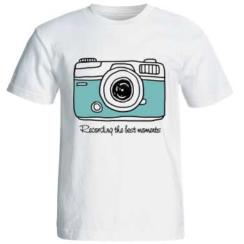 تیشرت  آستین کوتاه  شین دیزاین طرح  دوربین کد4175