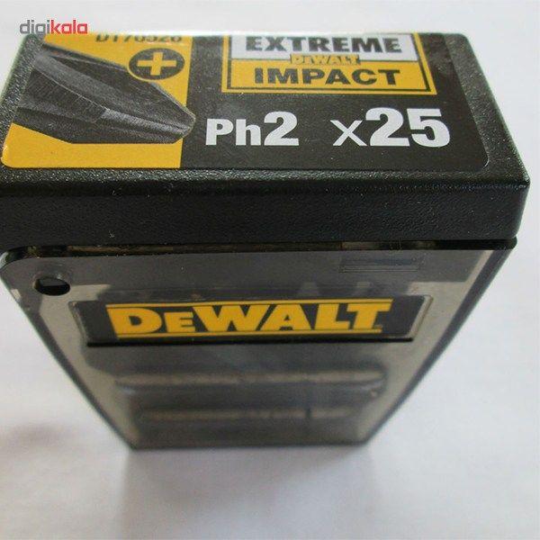 مجموعه 25 عددی سری پیچ گوشتی دیوالت مدل DT70526 main 1 6