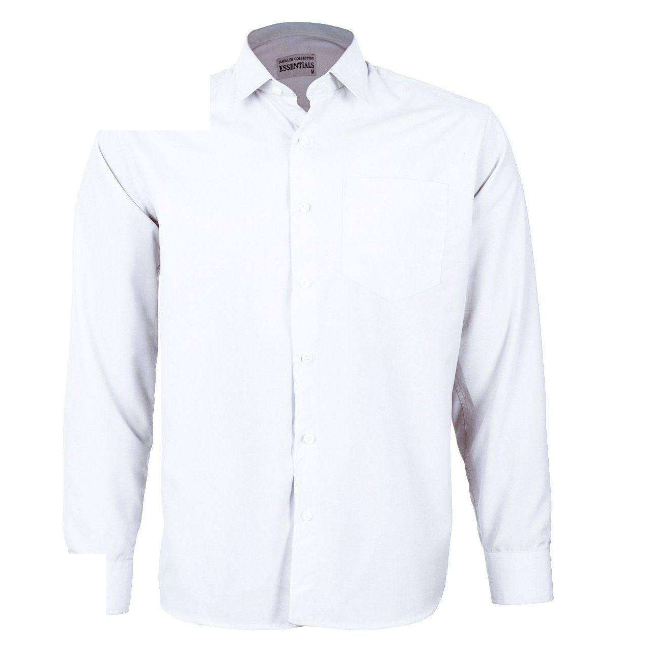 پیراهن مردانه ناوالس کد RegularFit-Tet-wh main 1 1