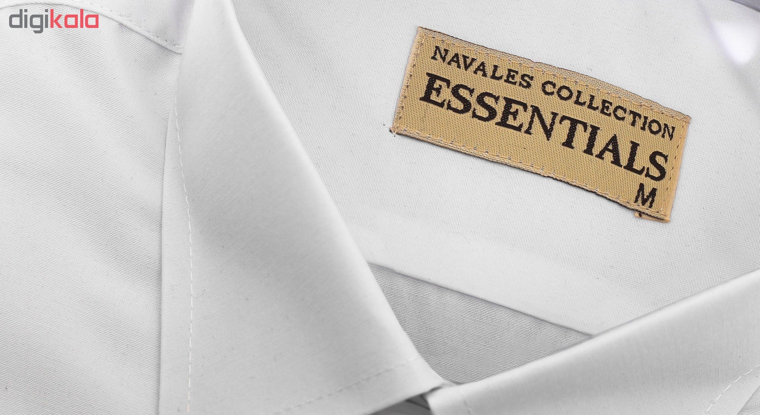 پیراهن مردانه ناوالس کد RegularFit-Tet-wh main 1 5