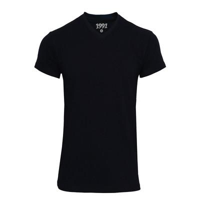 تی شرت مردانه 1991 اس دبلیو مدل V Black