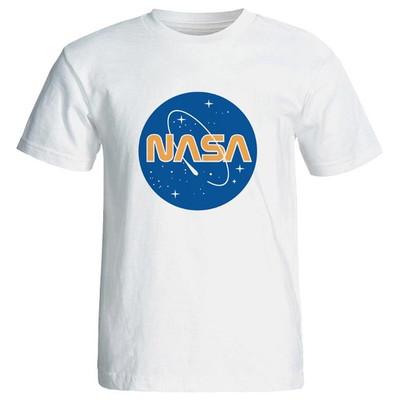 تصویر تی شرت آستین کوتاه مردانه طرح nasa کد 3919