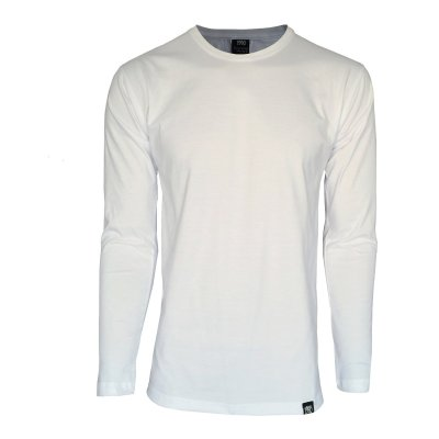 تی شرت آستین بلند مردانه 1991 اس دبلیو مدل 001 White