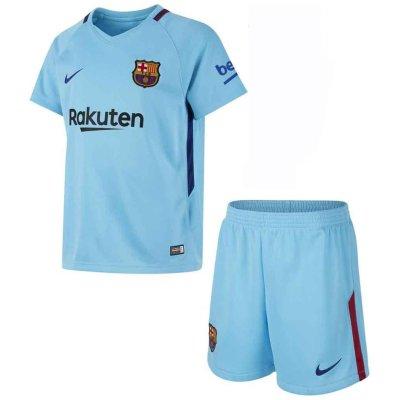تصویر پیراهن و شورت ورزشی  مدل تیم بارسلونا