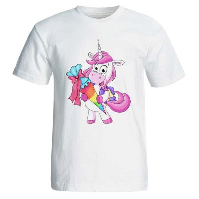 Photo of تیشرت زنانه طرح اسب تک شاخ unicorn کد 3572