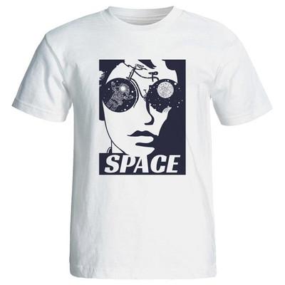 Photo of تی شرت زنانه شیک طرح دختر فضا space