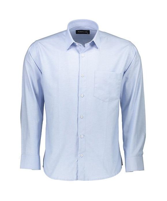 پیراهن مردانه ناوالس مدل OX8020BL main 1 1
