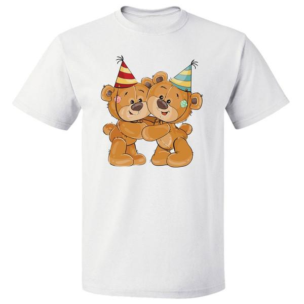 تیشرت مارس طرح تم تولد خرس ها کد 3598