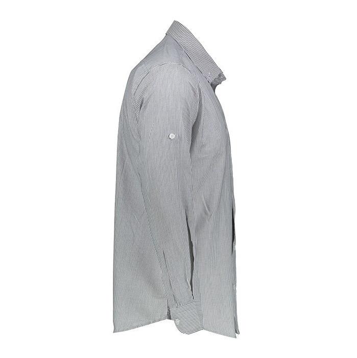 پیراهن  مردانه ناوالس طرح راه راه ریزمدلNKH27-RIZ-CH