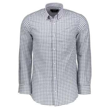 پیراهن  مردانه ناوالس طرح چهارخانه مدلVIP-N-SQ-WH