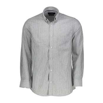 پیراهن  مردانه ناوالس طرح راه راه درشت مدلVIP-N-ST-BK