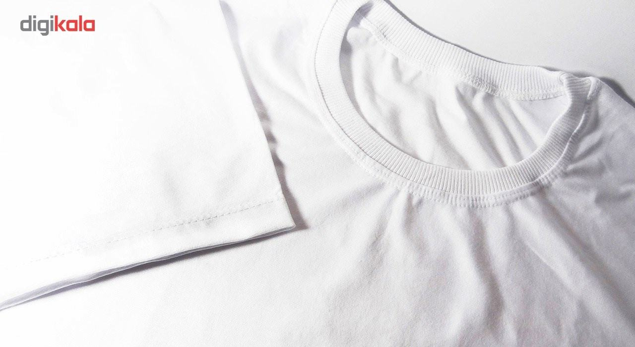 تی شرت آستین کوتاه زنانه شین دیزاین طرح یونیکورن کد 4422 main 1 3
