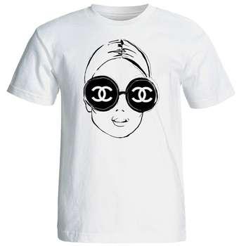 تی شرت آستین کوتاه زنانه شین دیزاین طرح فانتزی کد 4402