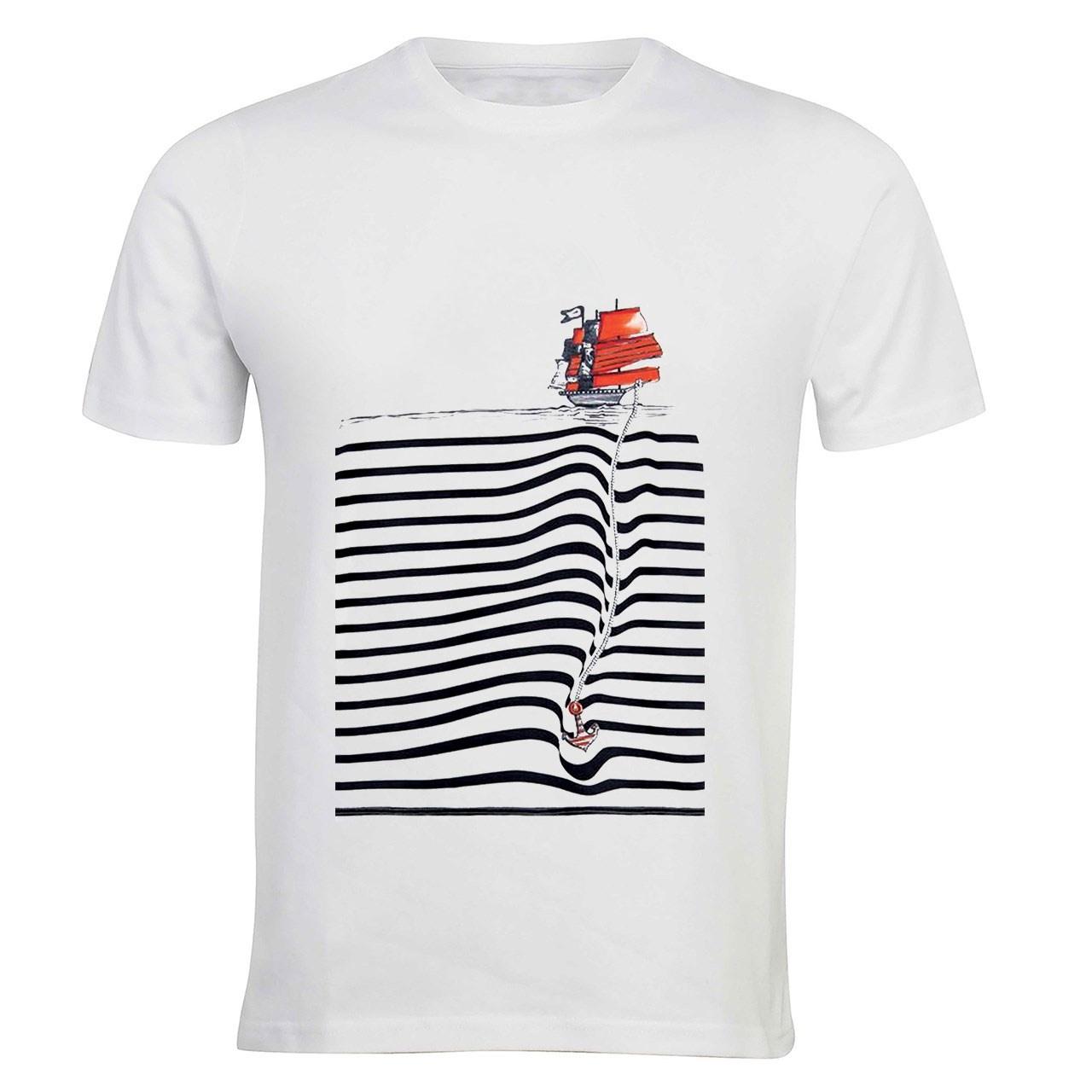 تی شرت آستین کوتاه زیزیپ کد 523T