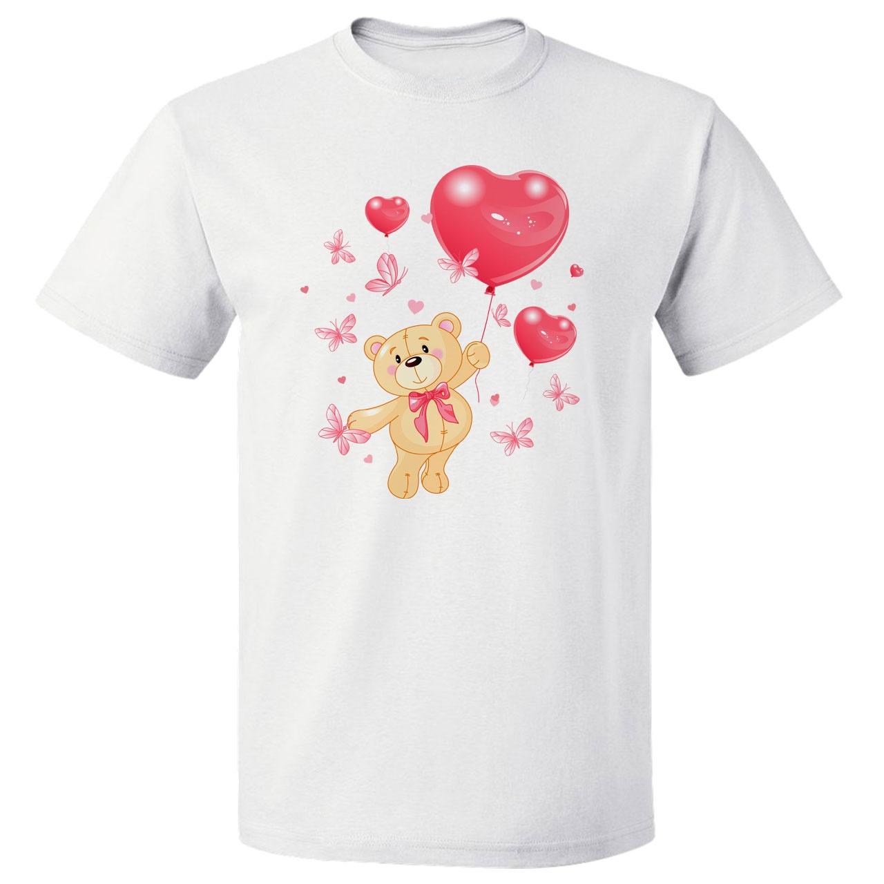 تی شرت مارس طرح تم تولد خرس کد 3597