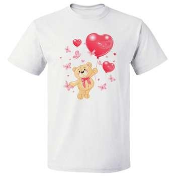 تی شرت زنانه طرح خرس کد 3597
