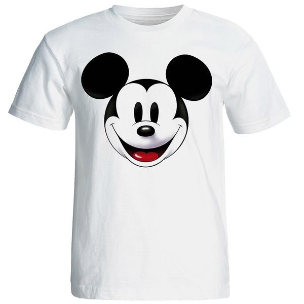 تی شرت آستین کوتاه مردانه شین دیزاین طرح میکی موس کد 4484