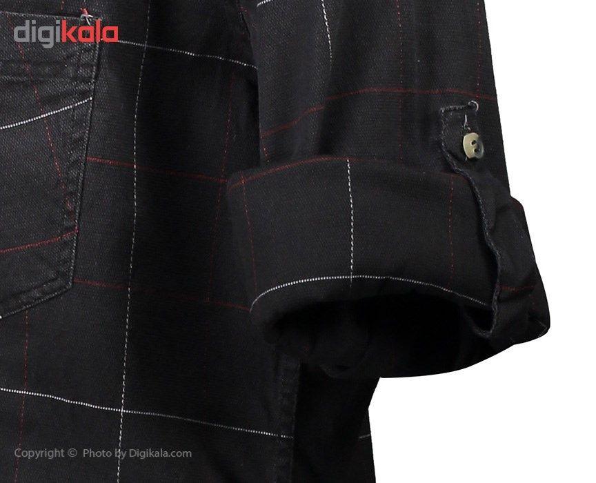 پیراهن مردانه ناوالس کد NKH27-BK main 1 2
