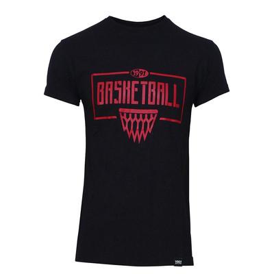 تی شرت مردانه 1991 اس دبلیو مدل baskethoop Black