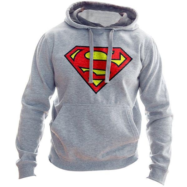 هودی مردانه به رسم طرح سوپرمن کد119