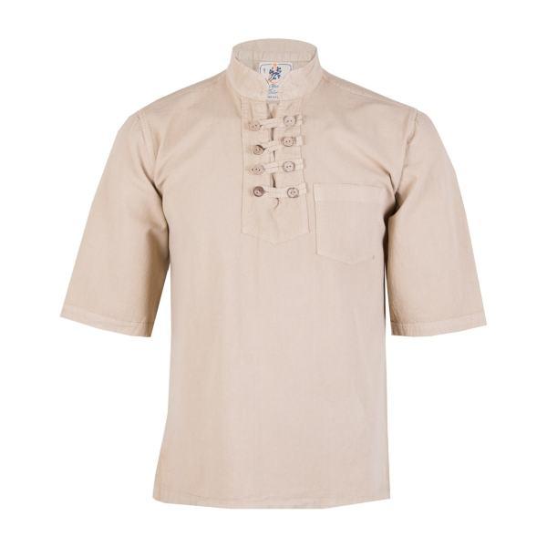 پیراهن مردانه چترفیروزه مدل هشت دکمه آستین کوتاه کد 3