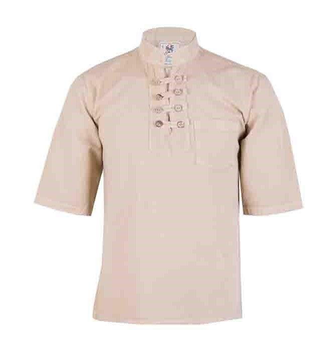 پیراهن مردانه چترفیروزه مدل هشت دکمه آستین کوتاه کد 3 main 1 1