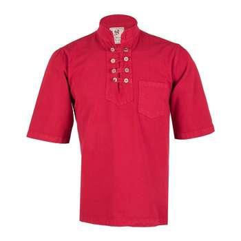 پیراهن مردانه چترفیروزه مدل هشت دکمه آستین کوتاه کد 15